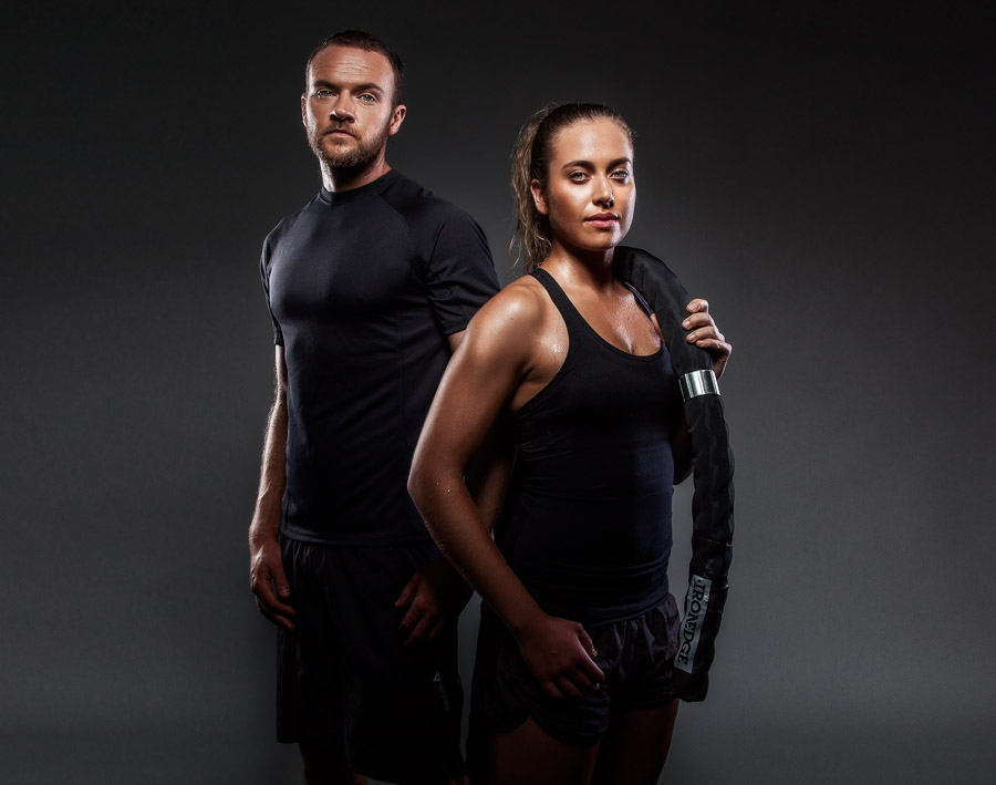 Nathan & Tania - Inner Warrior Fitness - Photography by Brad Scott